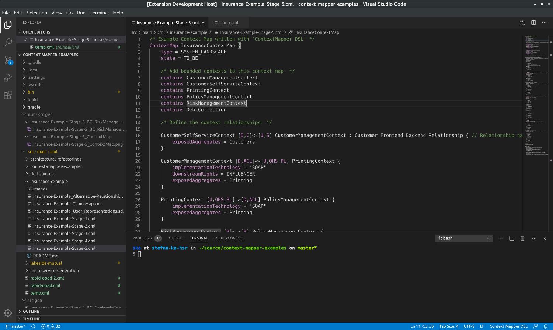 Context Mapper for VS Code
